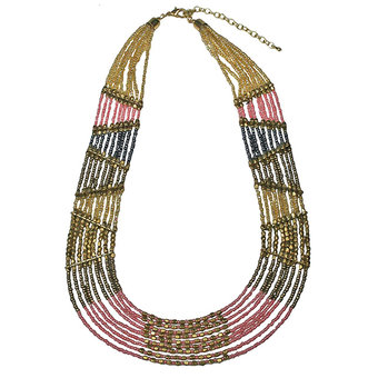 Pipol´s Bazaar - Bella Vista Necklace Pink