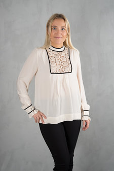 Plus Fine - St. Germain Blouse Ecru