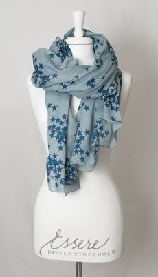 Maya Scarf Star Blue