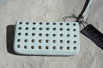 Frontrow - Phone Snap Mid wallet Iceblue / Silver