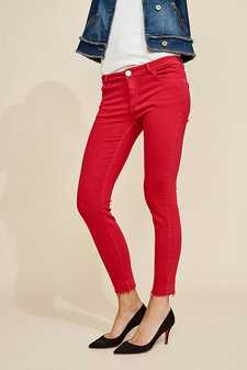 Mos Mosh - Sumner Colour Pant Cherry
