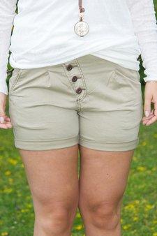 Pulz Jeans - Lykke Loose Shorts Cuban Sand