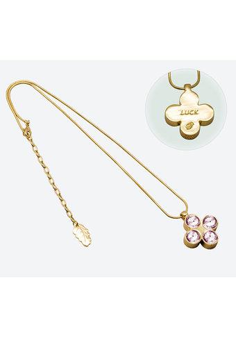Ioaku - The Four Clover Amulet 45 Gold Pink