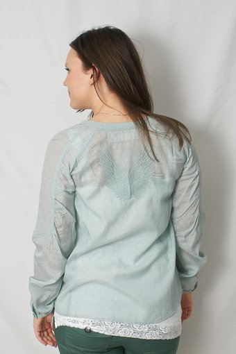 Culture - Rawert Shirt Aqua Mist