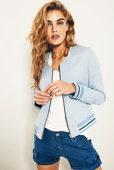 Mos Mosh - Swift Jacket Light Blue