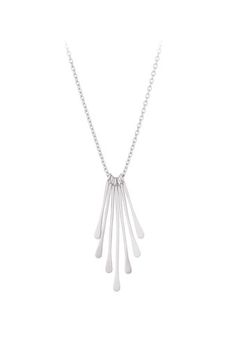 Pernille Corydon - Waterfall Necklace  Silver