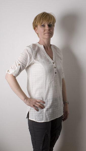 Pulz - Skjorta Alona Creamy Mist