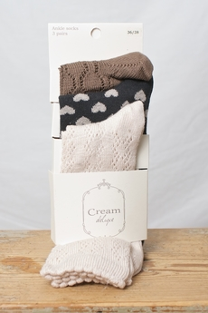 Cream - Trinity Stocking Two