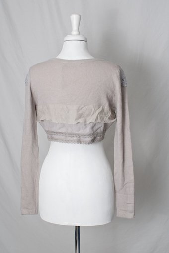 Nü - Knit Bolero Dusty Rose