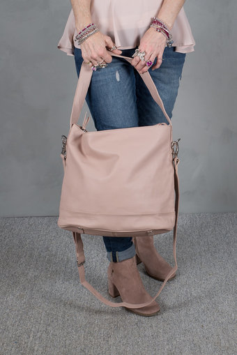 UNMADE - Soft Solid Hobo Bag Powder