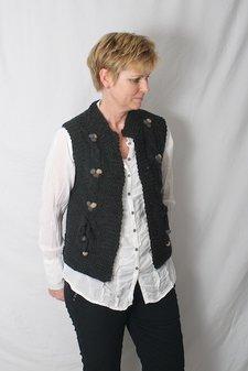 ReMind - Hira Waistcoat Charcoal