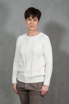 Second Female - Flamingo Knit Offwhite