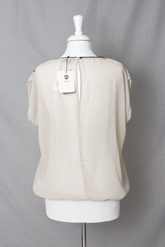 Pulz Jeans - Sisa Wing Blouse Dove
