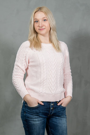 Second Female - New Flamingo Knit Cold Pink