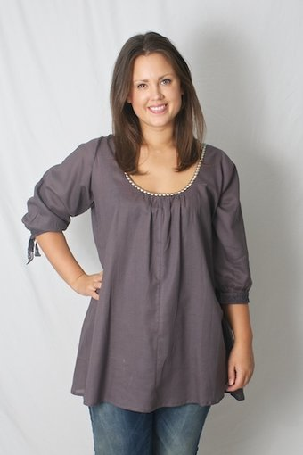 Love Forever - Tina Tunic Grey