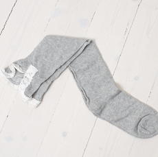 Cream - Greta Stocking Grey Melange