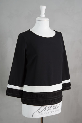 Pieszak - Ink Panel Blouse Black