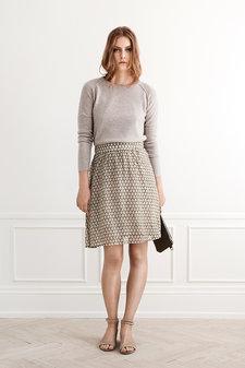 Rosemunde - Skirt Sweet Tiles Olive print