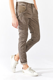 Mos Mosh - Linton Oil Pants Brown Coffe