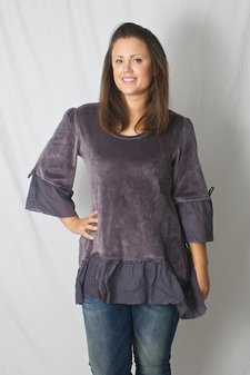 Love Forever - Sofia Tunic Grey