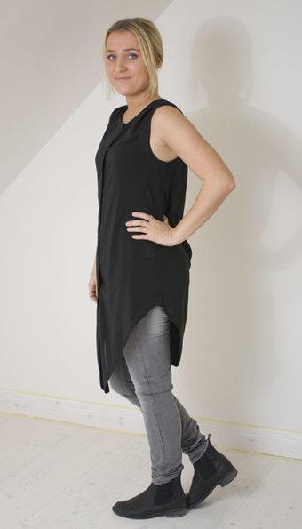 Second Female - Skjorta Storm Black