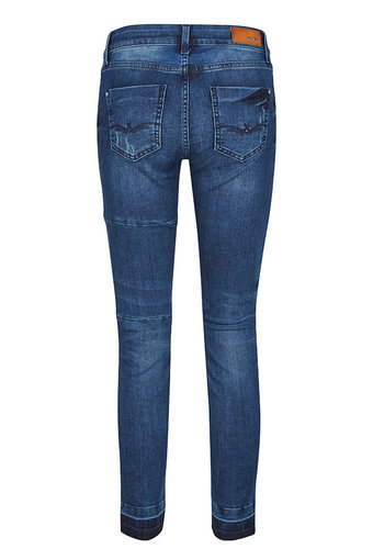 Mos Mosh - Sumner Patch Jeans Blue denim