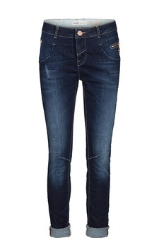 Mos Mosh - Nelly Deep Blue Jeans Dark Blue Denim