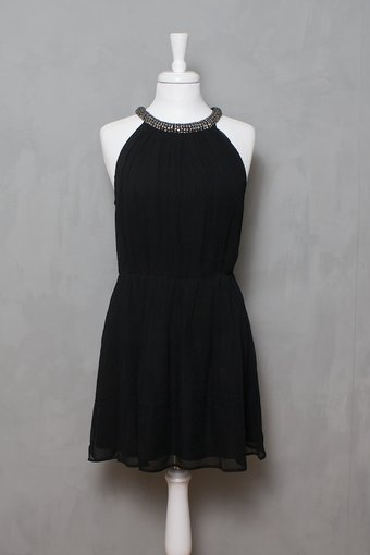 Second Female - Athena Dress Black