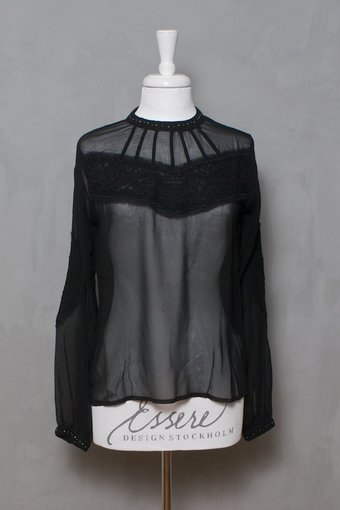 Culture - Maggie Blouse  Black