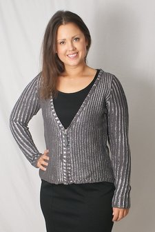 Pulz Jeans - Natalie Cardigan Silver