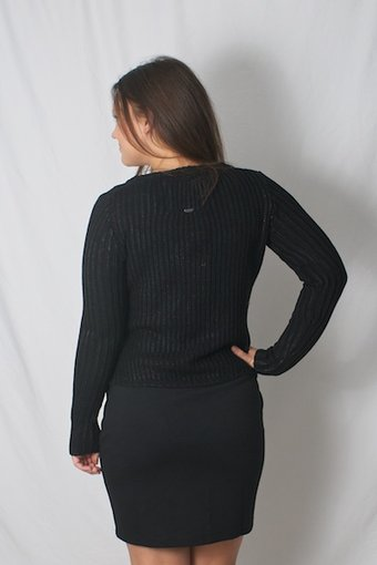 Pulz Jeans - Natalie Cardigan Black