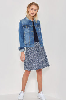 Denim Hunter - Agnes Skirt Dress Blue