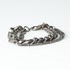 Vintage by Fé - Calasi bracelet Antique Silver