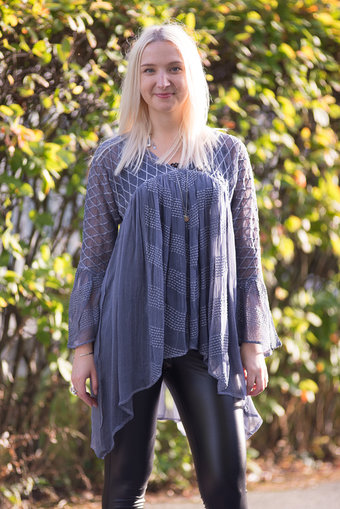 Sixty Days - Fiona Blouse Denim