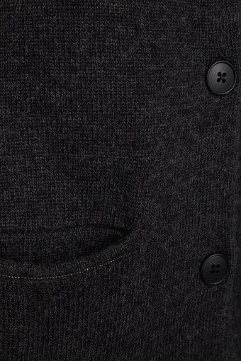 Mos Mosh - Hoi Cardigan SoftDark Grey