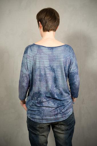 Pulz - Rider blouse Powder Blue Mix