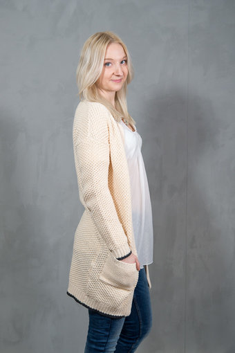 Pulz - Kaja Cardigan Paste Rose