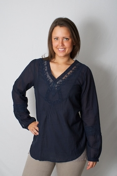 Andersen & Lauth - Gaby Blouse Navy