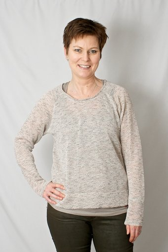 Repeat - Knit Top Gabriella Retro Beige