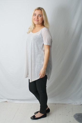 Pulz Jeans - Candi Blouse Champagne