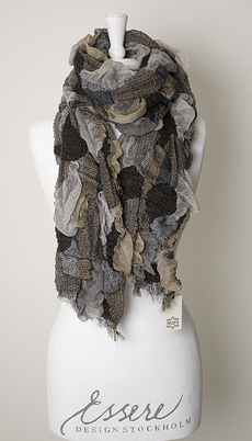 Maya - Scarf Tuva Brown 50% REA