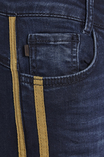Denim Hunter - Sila 7/8 High Custom Dark Denim