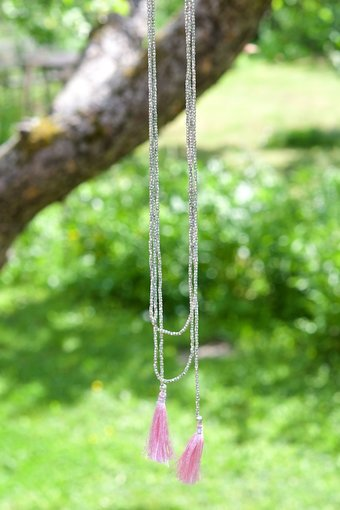 Soul of Maïa - Halsband Blossom Rosa