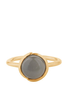 Pernille Corydon - Aura Grey Moonstone Ring Gold