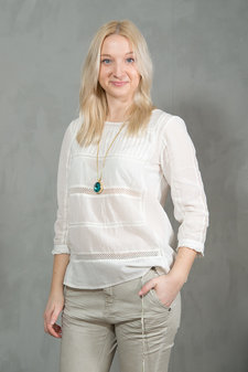 Second Female - India Blouse Offwhite