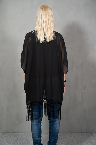 Monrow - Ika Kimono Black