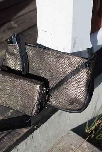 Frontrow - Mollie Sling bag Metallic Bronze / Black