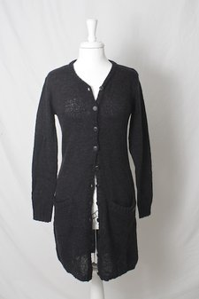 Pulz Jeans - Canna Cardigan Dark Night Melange