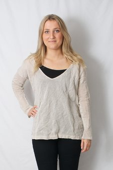 Mellow Rose - Sweater Brown Melange
