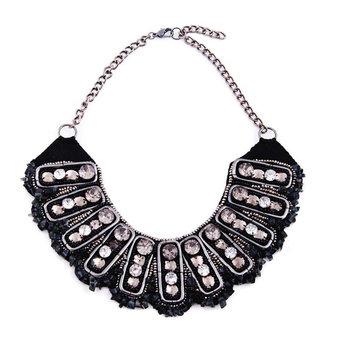 Pipol's Bazaar - Indiana Neclace Black